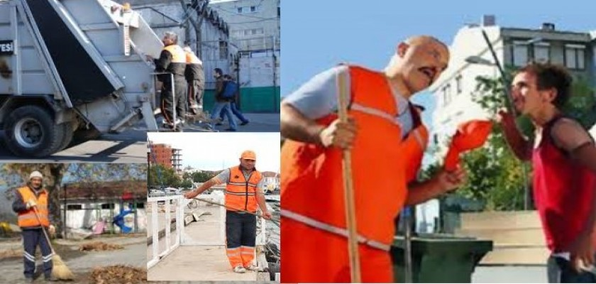 Şehrimizin ve Sokaklarımızın Temizlik Hizmeti