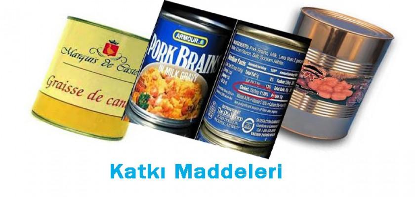 Gıdalardaki Katkı Maddeleri