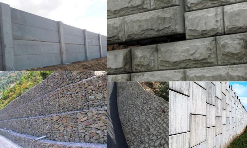 İstinat Duvarı Projesi