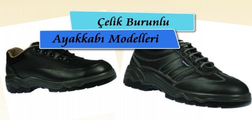 Çelik Burunlu Ayakkabı Modelleri